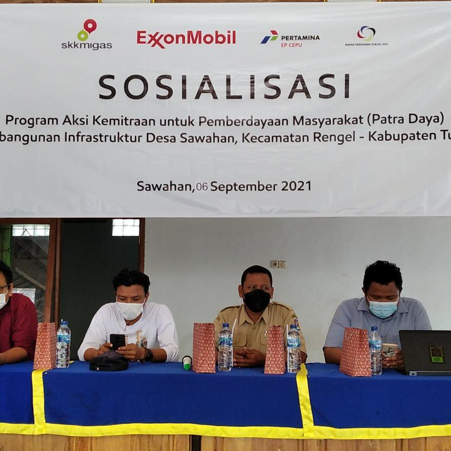 sosialisasi program aksi kemetriaan pemberdayaan masyarakat desa (Ptra Daya) tahun 2021