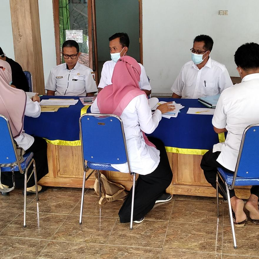 Monef dri kecamatan dan pendamping Desa tahun 2021